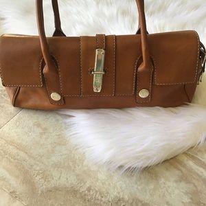 Vintage MICHAEL Michael Kors Brown Leather Satchel